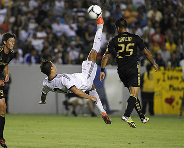 LA Galaxy 1-5 Real Madrid
